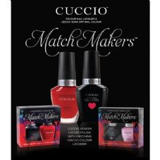 CUCCIO VENEER UV/LED MATCHMAKER KITS - 40 New Sets Mani + Pedi Sets